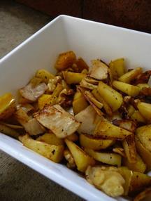 turkey apple walnut goodness