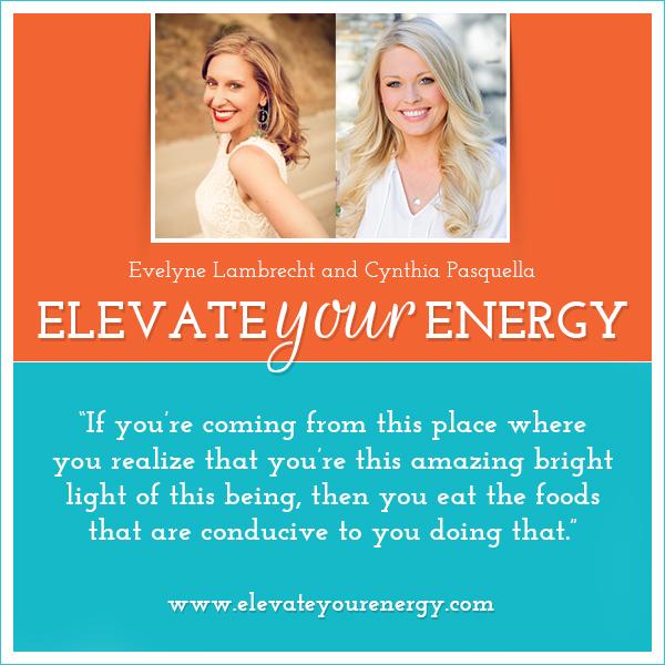 Cynthia Pasquella on Elevate Your Energy Radio