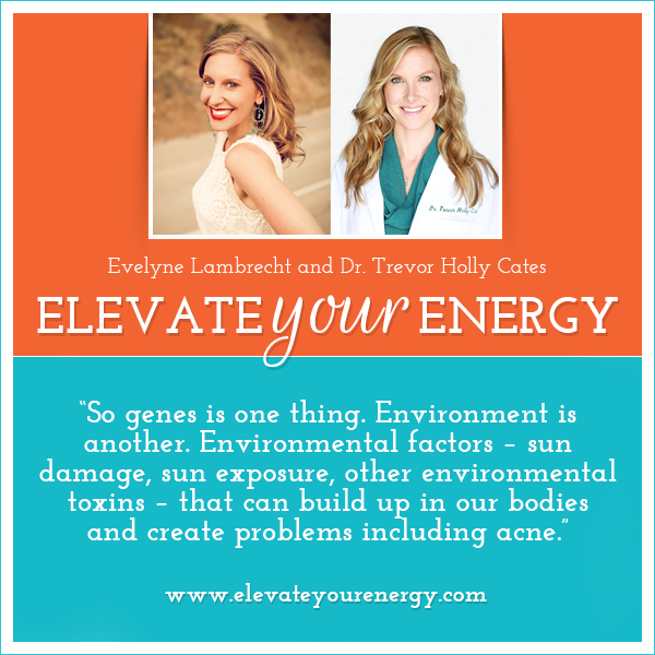 Dr Trevor Holly Cates on Elevate Your Energy