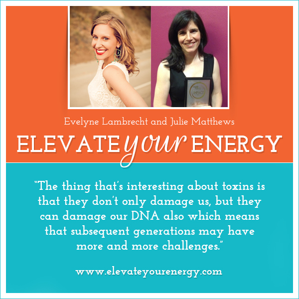 Julie Matthews on Elevate Your Energy Radio